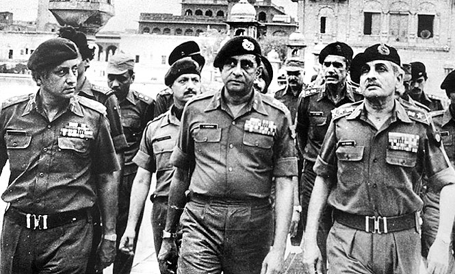 In 1987 the Army General plan was to break Pakistan into four but weak political leadership pulled back.