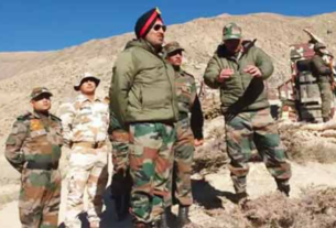 Brigadier along with his buddy walked across to warn the Chinese at Doklam