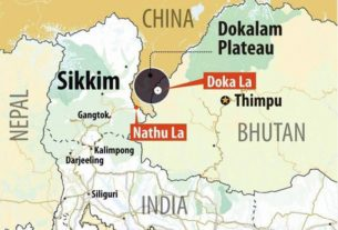China is back in Doklam. A litmus test for India once again.