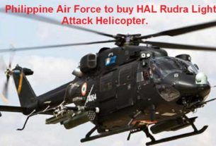 Philippine Air Force seriously evaluating HAL Rudra Light Attack Helicopter (Armed) for acquisition.