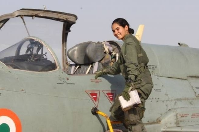 Flying Officer of Indian Air Force, Avni Chaturvedi