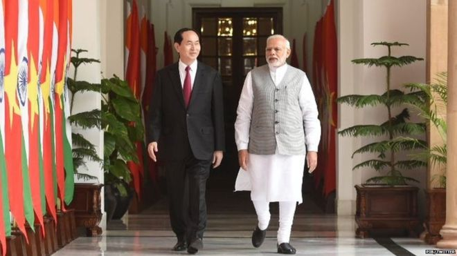 On Saturday, three agreements were signed between India and Vietnam in New Delhi.