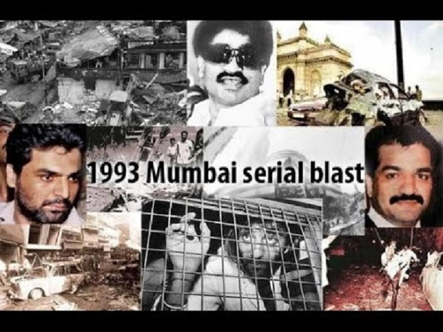 On March 12, 1993, a dozen bomb blasts took place in Mumbai
