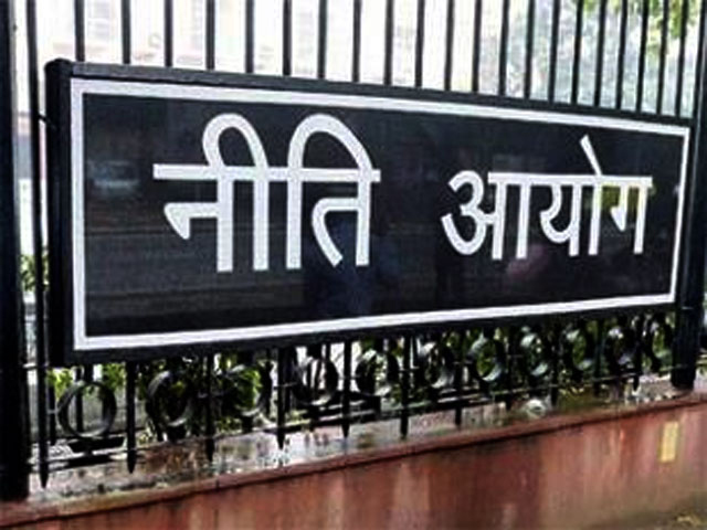 NITI (National Institution for Transforming India) Aayog which was brought in to structure abolishing the planning commission of India