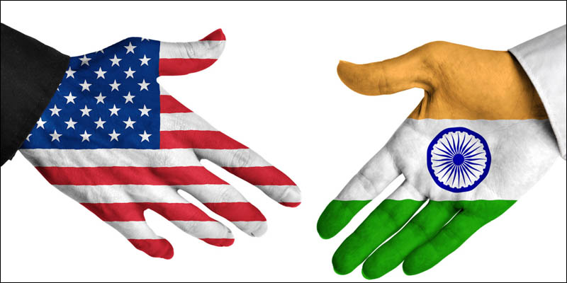 Former US diplomat claims India advancing its way to be a global power.