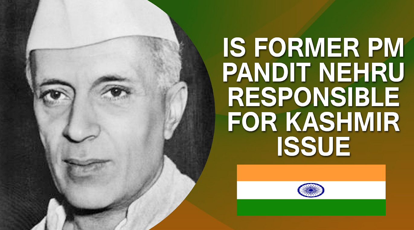 Image result for blunder of nehru in kashmir