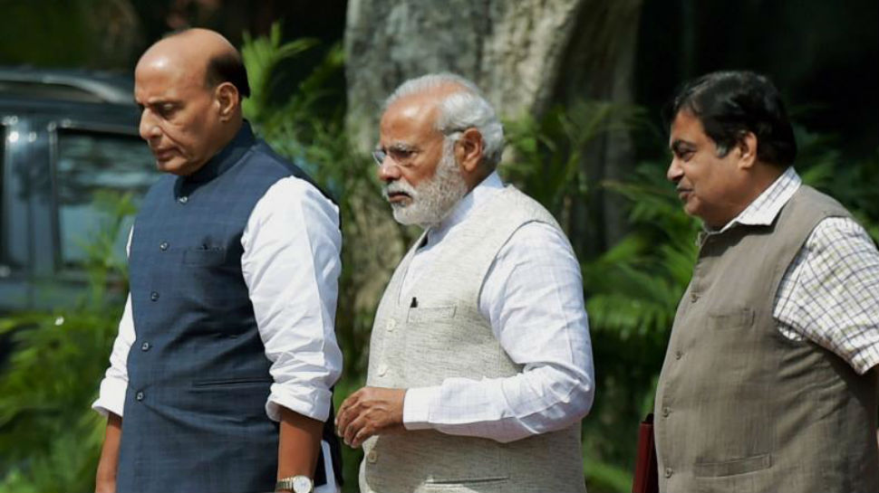 BJP-NDA MPs decides not to take 23 days salary and other allowances after budget session as the Parliament was nonfunctioning.