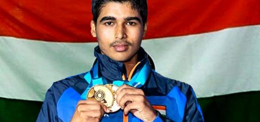 Gold medalist at the age of 16. A shooter who made India proud.